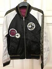 G-Star Raw Bomberjacke WALY Reversible Jacket Bomber Jacke Herren Gr. M Black