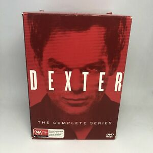 DEXTER The Complete Series 1 - 8 DVD BOX SET TV Show Region 4 FREE SHIPPING