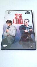 """DVD """"COLEGAS A LA FUERZA"""" COMO NUEVA MICHAEL J. FOX JAMES WOODS"""