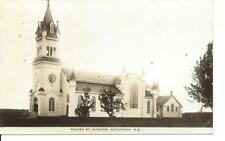 Église St. Jacques, Scoudouc, N.B., RPPC, Unused  (11 856)