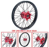 """18"""" 2.15"""" Rear Wheel Rim Red Hub for Honda CRF250R CRF450R 13-19 CRF450RX 17-19"""