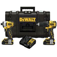 DeWalt Dckts279C2 Atomic 20V Max Bl Hammer Drill Driver/Impact Driver New