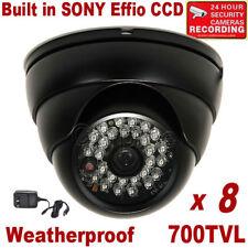 8x IR Outdoor Night Security Camera w/ SONY Effio CCD Wide Angle Lens 700TVL da3