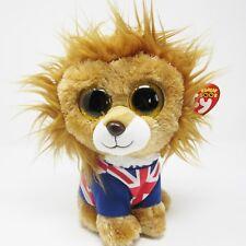 4c2b9d921af Ty Beanie Boo medium Hero Lion soft toy plush 2014 9