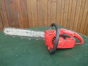 """Vintage HOMELITE XL-76 Chainsaw Chain Saw with 15"""" Bar"""