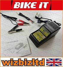 ATV Motorbike Battery Charger Conditioner with ALL LEADS - BCH001
