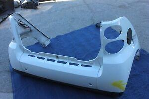 08-15 SMART CAR FORTWO FOR TWO REAR BUMPER FENDER GENUINE OEM WHITE