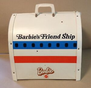 1970's Mattel Barbie's Friend Ship United Airlines Airplane with cart