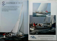 Seastream 43 MK III Plan Dossier de presse Livret de présentation