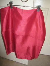 IDENTITY coral panel detail skirt size 14 NWT