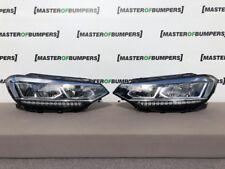 VW Touran BLUEMOTION 2015-2018 COPPIA FARI LED DRL LHD COMPLETO autentico