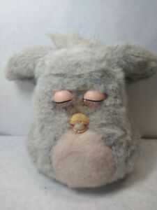 2005 Tiger Furby Emoto-tronic 59294 Gray w/ Pink Belly Blue Eyes - *Not Working*