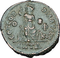 THEODOSIUS I the GREAT Genuine 378AD Authentic Ancient Roman Coin  i65908