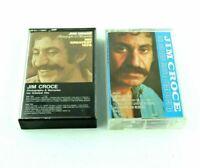 Jim Croce Bad Leroy Brown 2 Tapes Vintage Music Audio Cassette Tape Case Artwork