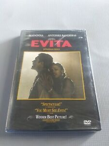 Evita (DVD, 1998, Widescreen) NEW SEALED!