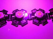 3W High Power LED auf Starplatine Vollspektrum Pflanzenzucht 400nm - 840nm 2300k