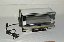GE Classic 1960s Toast-R-Oven GENERAL ELECTRIC USA Toaster Oven CLEAN WORKING!