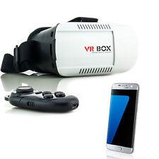 3D Brille VR Virtual Reality für Samsung Galaxy S5 S6 S7 Edge Neo mit Controller