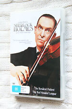 Sherlock Holmes: The Resident Patient, The Red Headed League(DVD) R-4 LIKE NEW