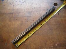 Hensley 2108mm W X 18 L Carbide Slant Tooth Machine Keyway Broach 116 126