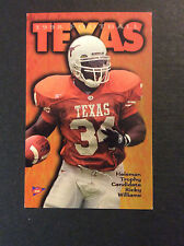 1998 Texas Longhorns Football Schedule Ricky Williams Bud Light