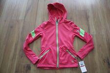 Spyder Womens Popstretch Hoodie Jacket NWT Size XS Flirt Pink Green Flash