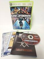 Crackdown (Microsoft Xbox 360, 2007) Complete Tested Working
