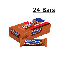 SNICKERS Hazelnut Singles Size Chocolate Candy Bars  24-Count Box