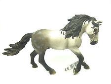 1777) Schleich (13607) Andalusier Hengst mit Fahne Pferd PferdeSchleichpferd
