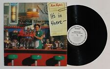 KATE TAYLOR It's In There...LP Columbia Rec. JC-36034 1979 VG++ WLP/GSP 3C