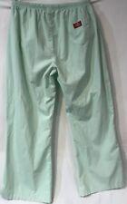 Dickies Scrubs Pants Mint Uniform Drawstring Medical Nurse Bottoms Womens Sz L