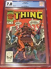 THING 9 CGC 7 John Byrne Ron Wilson Fantastic Four 1984