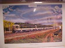 """2104 Railroad Art Winfield,/"""" Rock Island at El Reno/"""" s//n"""