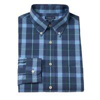 New Croft /& Barrow Men/'s Classic-Fit Plaid Button-Down Collar Dress Shirt $32
