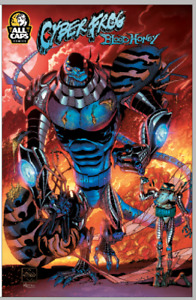 CYBERFROG: BLOODHONEY Team Up Variant SIGNED!