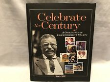 Celebrate The Century USPS Stamp Book Collection Volume 1, 1900-1909 HARDCOVER