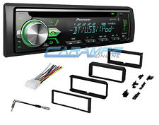 NEW PIONEER CAR STEREO RADIO WITH BLUETOOTH & AUX/USB W INSTALL KIT & WIRING