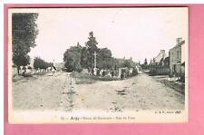 CPA -  ARGY  - 36 -   ROUTE DE BUZANCAIS   - RUE DU FOUR