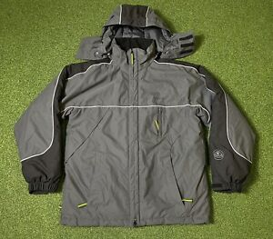 Lotus Official Jacket Black And Grey TEAM LOTUS Fleece Lined Coat - Racing SMALL
