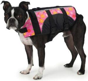 East Side Collection Aquatic Pet Preserver Life Jacket Vest Pink XXS XX-Small