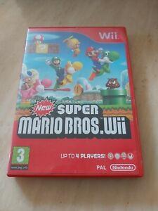 Super Mario Bros - Nintendo Wii - Complete With Manual -