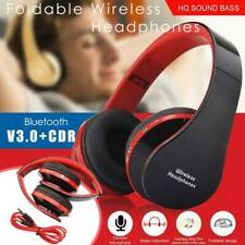 Over Ear Wireless Bluetooth Headphones Noise Cancelling Stereo Earphones Headset