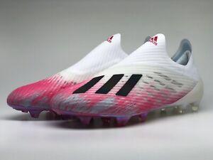 ADIDAS X 19+ FG weiß pink Nocken EG7138 Fußballschuhe Uniforia Pack Gratis ID