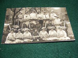 POSTCARD SOCIAL HISTORY ALEXANDRA DAY LADIES FASHION HATS VINER BATH SOMERSET RP