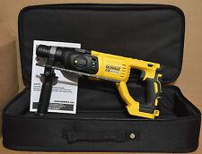 """New DEWALT DCH133 20V Max XR Brushless 1"""" D-Handle Rotary Hammer + Kit Bag"""