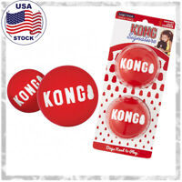 Kong Signature Ball -Durable Dog Toy, Sizes- Small,Medium,Large -Free Shipping