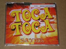 SAVIER - TOCA TOCA - CD SINGOLO SIGILLATO (SEALED)