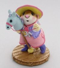 Wee Forest Folk Special Color FTF Lavender and Pink Clippity Clop