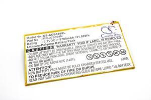 Batterie 5700mAh Li-Po pour Acer Iconia One 10 B3-A30, Tab 10 A3-A40