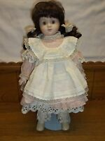 Musical SFMB 1989 Bisque Doll - 19""